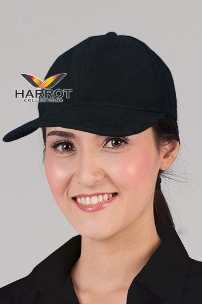 หมวกแก๊ป เบสบอล สีดำ