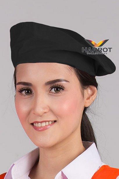 หมวกไบเล่ สีดำ