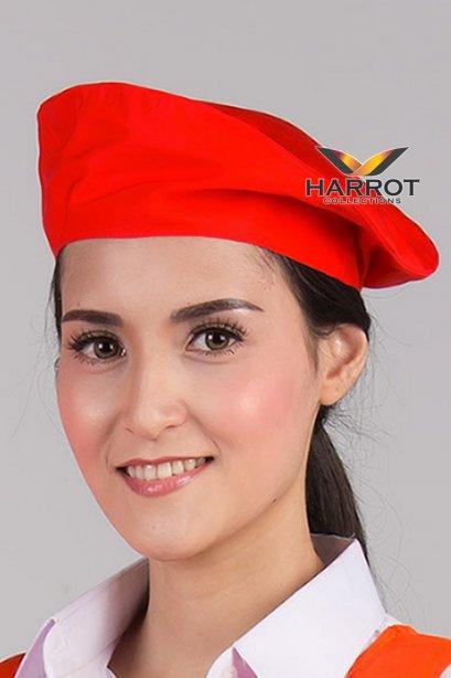 หมวกไบเล่ สีแดง