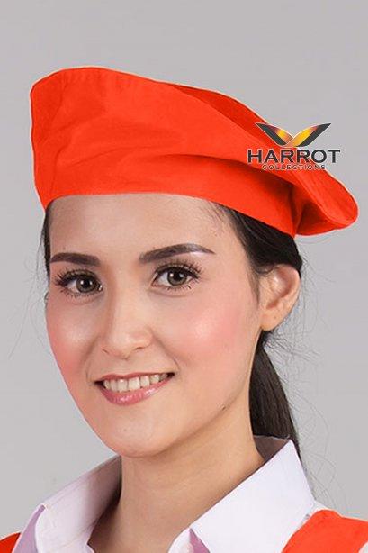 หมวกไบเล่ สีส้ม
