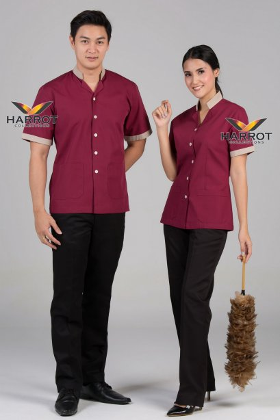 Burgundy Housekeeper Shirt
