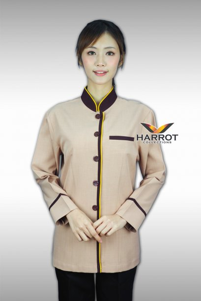 BROWN-YELLOW-BEIGE HOUSEKEEPER