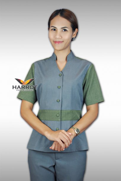 GREEN-GREY HOUSEKEEPER