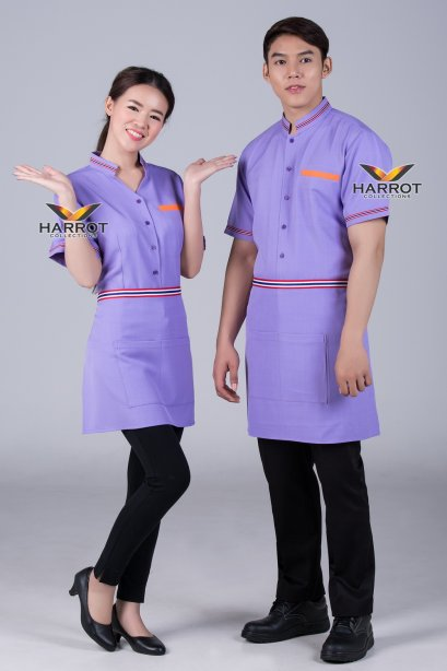 BEIGE-BROWN SHIRT&APRON HOUSEKEEPER(copy)