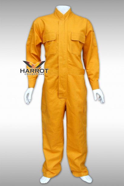 Yellow Long Coverall