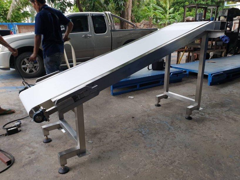 ระบบลำเลียงสายพานพียู  (PU Belt Conveyor)