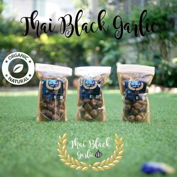 Thai Black Garlic ขนาด 200 กรัม   (บรรจุ 3 ถุง)
