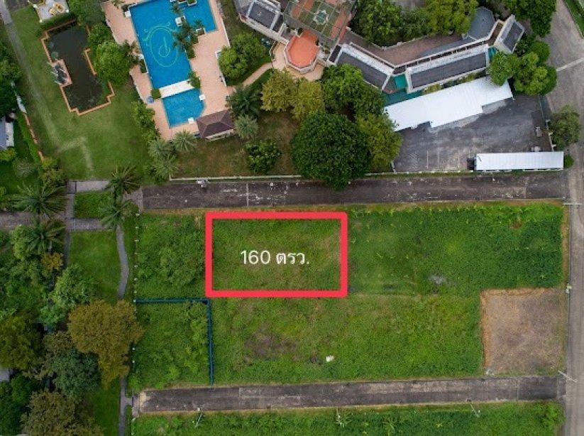 ขายที่ดินเปล่า!!! เหมาะปลูกบ้านพักอาศัย โครงปัญจทรัพย์ พาร์ค ปิ่นเกล้า พื้นที่ 160 ตรว. ตรงข้าม Clubhouse โครงการ ราคาพิเศษ!!!