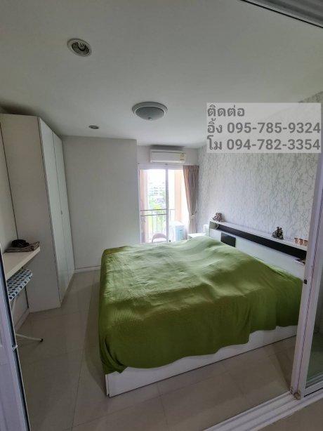 คอนโด ห้องใหญ่ 57 ตรม ใกล้ BTS แบริ่ง 2 ห้องนอน 1 ห้องน้ำ โครงการ Sense of london สุขุมวิท 109