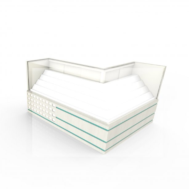 Glass Display Cabinets ( PREDT 01001 )