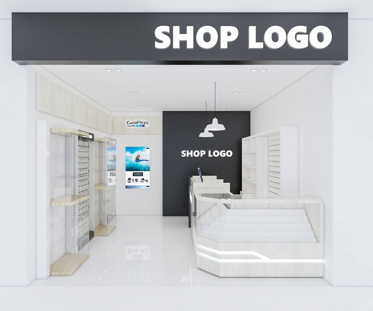 Shop set design 1