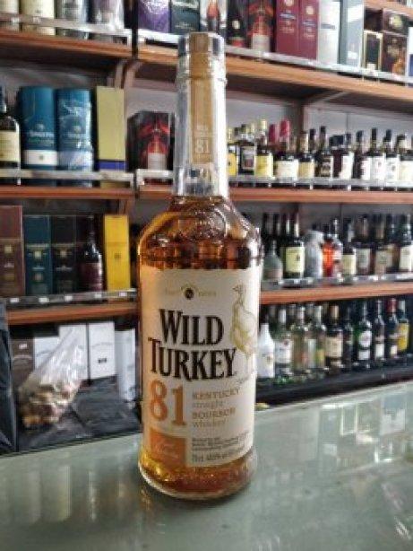 Wild Turkey 81 Bourbon (70cl)