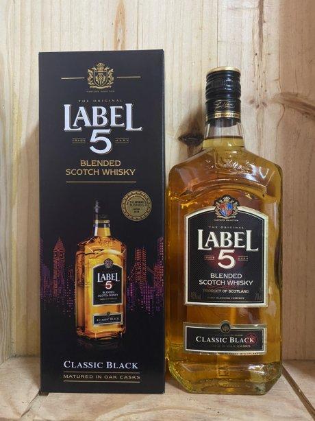 Label 5 Blended Scotch Whisky 70cl