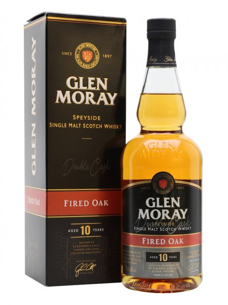 Glen Moray 10Y Fired Oak 70cl