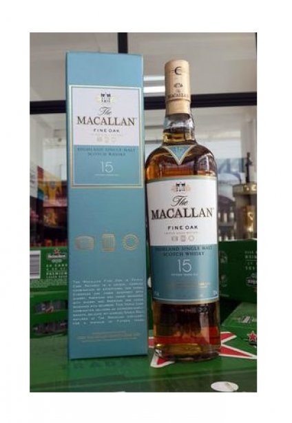 Macallan 15 Year Old Fine Oak 700ml
