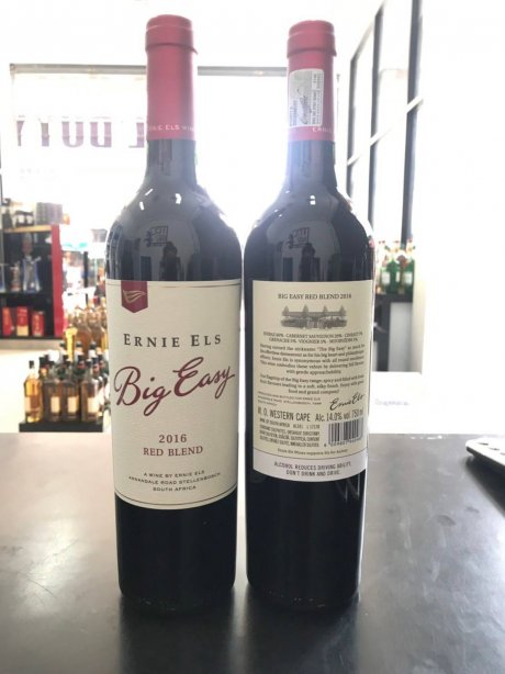Ernie Els Big Easy Red Blend.