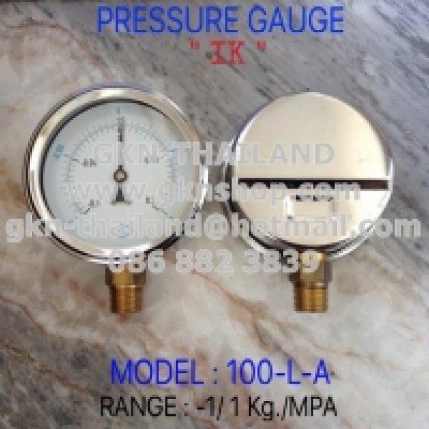 "Pressure Gauge ""IK 4"""