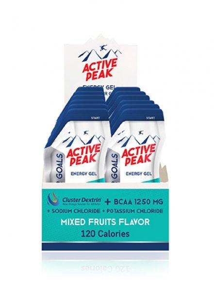 Active Peak Energy Gel - Mixed Fruit Flavor