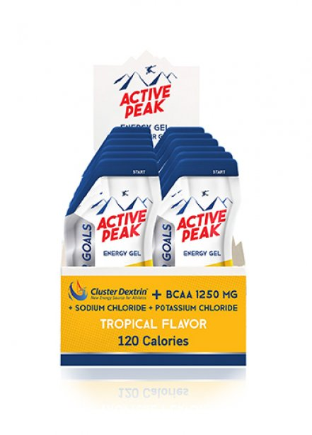Active Peak Energy Gel - Tropical Flavor