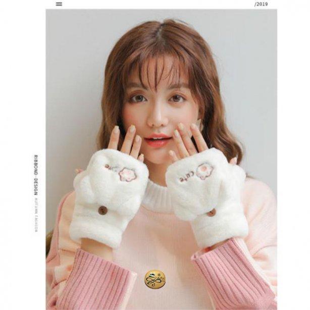 GL-021 ถุงมือกันหนาวขนกระต่าย
