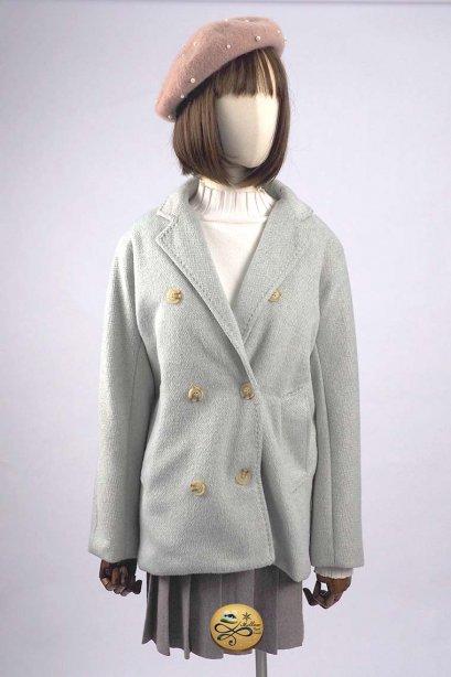 เช่าเสื้อโค้ทผู้หญิง รุ่น  Glacier Gray Pea Coat 902GCS287FAGY2XL1