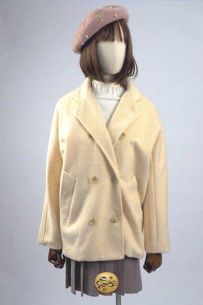 เช่าเสื้อโค้ทผู้หญิง รุ่น  Light Peach Pea Coat 902GCS288FACR2XL1