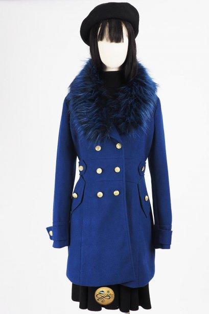เช่าเสื้อโค้ทผู้หญิง รุ่น  Presenca Masculina Coat  2006GCL749FABL1