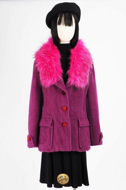 เช่าเสื้อโค้ทผู้หญิง รุ่น Purple Sapphire Jacket   2006GCL754FAPP1