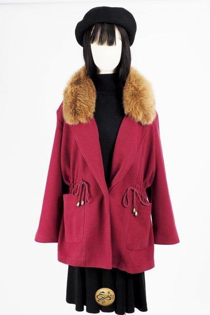 เช่าเสื้อโค้ทผู้หญิง รุ่น Pink Yarrow Coat   2006GCL782FAPP1