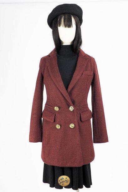 เช่าเสื้อโค้ทผู้หญิง รุ่น  Equestrian Red Coat  2006GCL787FARE1