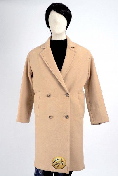 เช่าเสื้อกันหนาว รุ่น Irish Cream Long Coat   2006MCL634FABR1