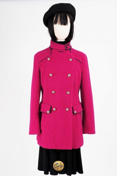 เช่าเสื้อโค้ทผู้หญิง รุ่น  Fur collar Sweet Sugarplum Coat  2008GCL804FAPK1