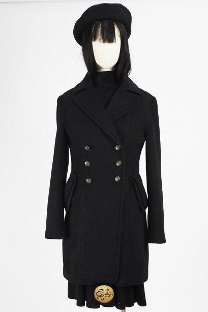 เช่าเสื้อโค้ทผู้หญิง รุ่น  Black Beauty Coat  2008GCL807FABK1