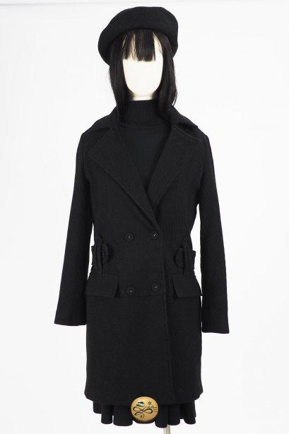เช่าเสื้อโค้ทผู้หญิง รุ่น  Black Beauty Coat   2008GCL808FABK1