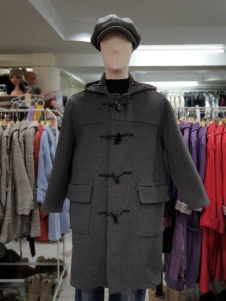 เช่าเสื้อโค้ชผู้ชาย  รุ่น  Gray Flannel Duffle Coat   902MCD055BBDGM1