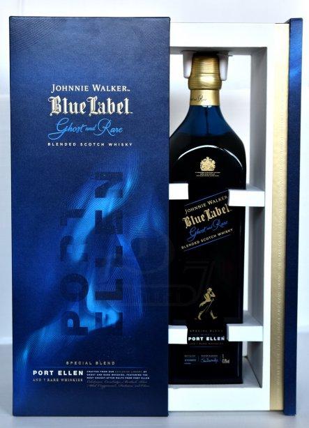Johnnie Walker Blue Label Ghost and Rare Port Ellen 1Liter