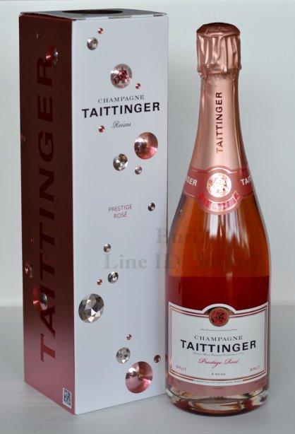 Taittinger Prestige Rose ลัง 12 ขวด