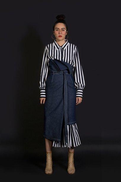 กระโปรงยีนส์ ทรงป้าย LUCCA Denim Skirt (Limited Edition) by WLS