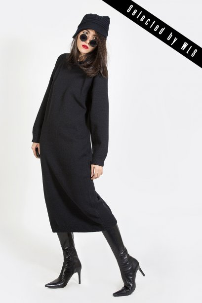 เดรสไหมพรม Oversized Sweater Dresses Selected  by WLS