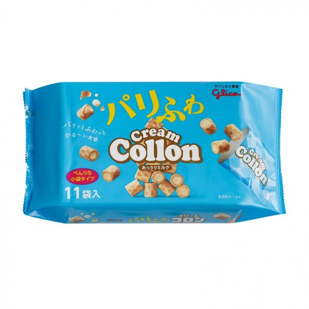 GLICO - Rich Milk Cream Collon Egg Roll  148.5g
