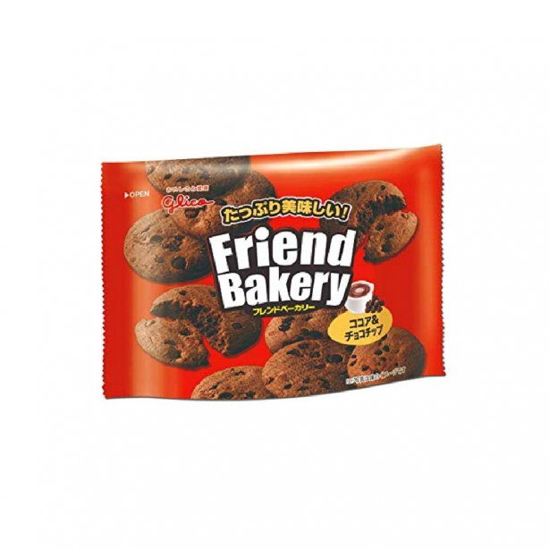 Ezaki Glico Friend Bakery Cocoa & Chocolate Chip