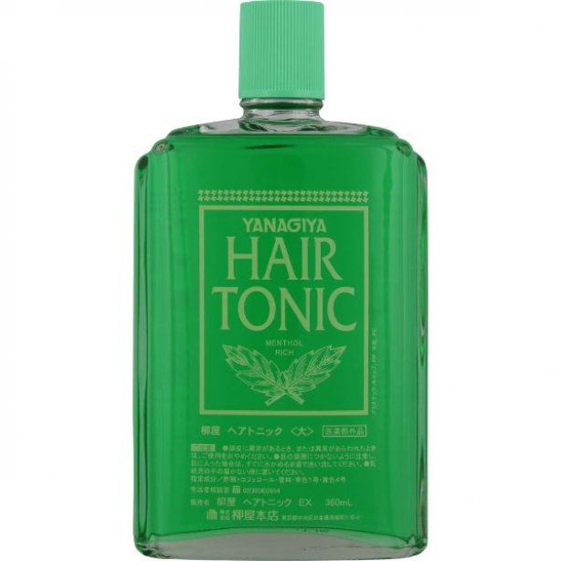 YANAGIYA Hair Tonic Menthol Rich