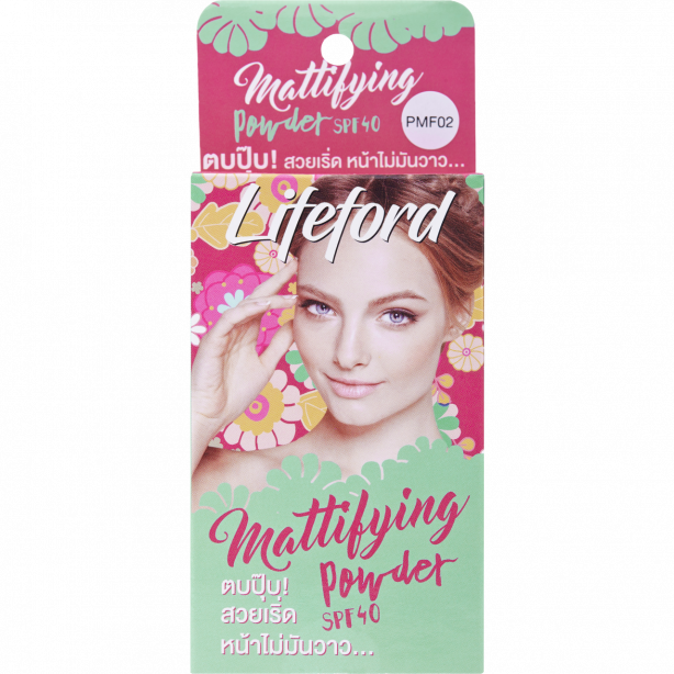 lifeford mattifying powder PMF02