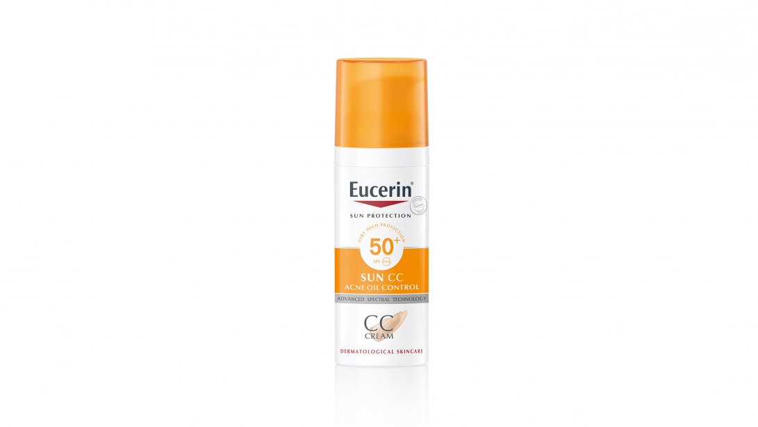 SUN CC Acne Oil Control SPF50+ PA++++ 50ml.