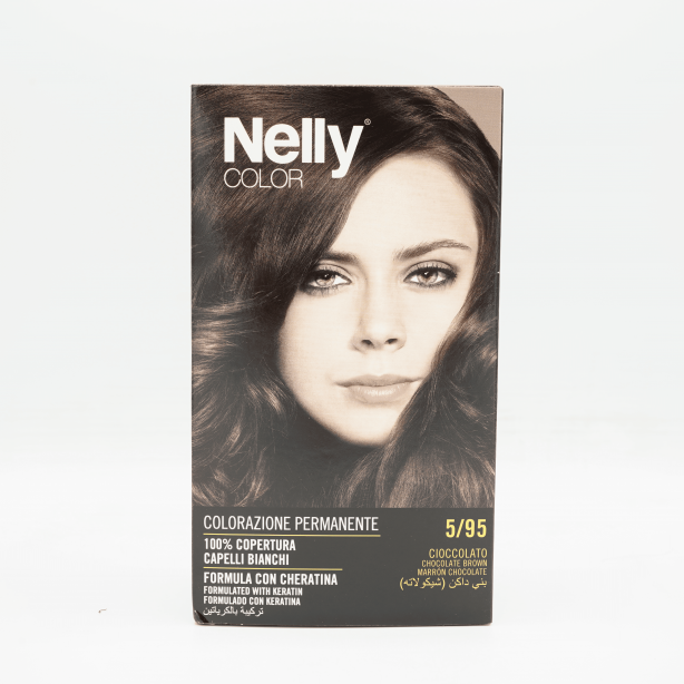 Nelly Hair Coloring Brown Chocolate  5/95