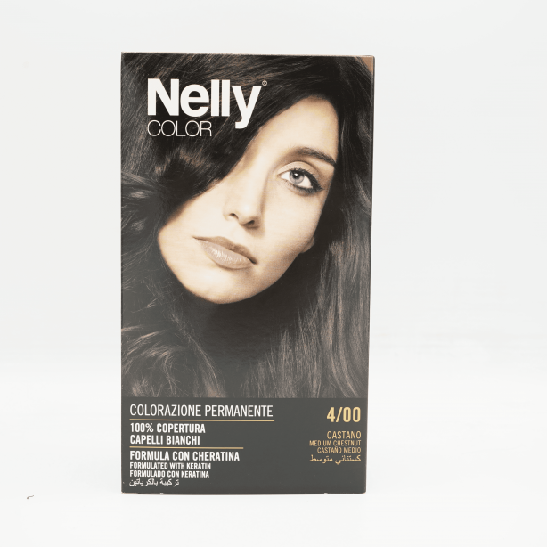 NELLY COLOR MEDIUM CHESTNUT 4/00