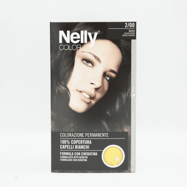 Nelly Color Cream Black Extra 2/0