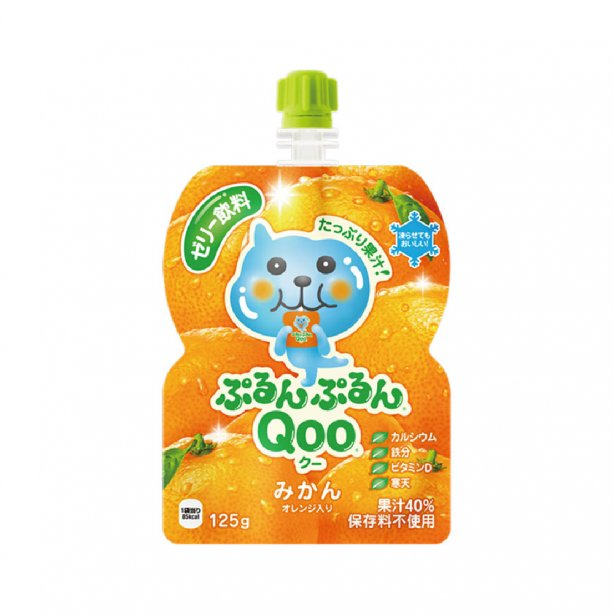 MINUTE MAID QOO Jelly Drink Orange Flavor 125g
