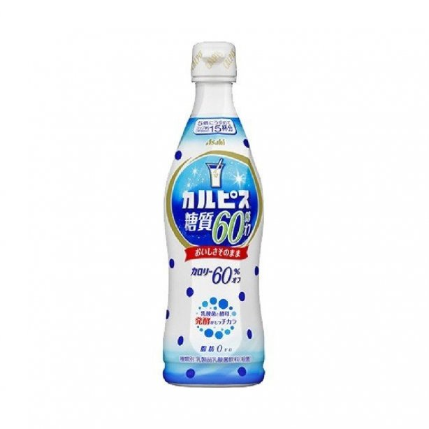 Calpis 60% off sugar