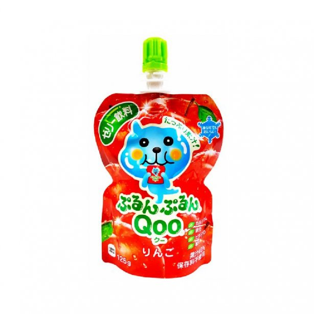 Coca-Cola Japan Minute Maid Purunpurun Qoo Apple 125G